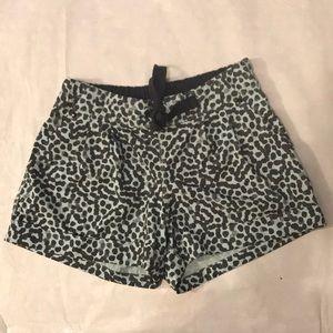 Lululemon Black & Light Blue Shorts